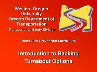 Introduction to Backing Turnabout Options