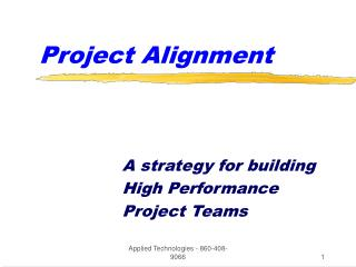 Project Alignment