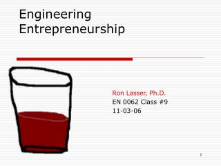Engineering Entrepreneurship