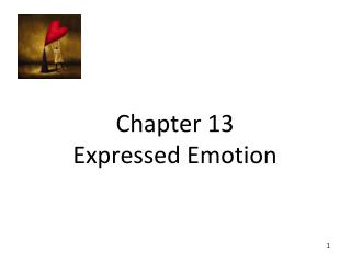 Chapter 13 Expressed Emotion