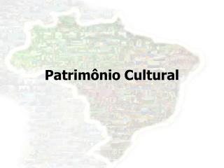 Patrimônio Cultural