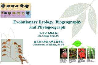 Evolutionary Ecology, Biogeography  and Phylogeograph