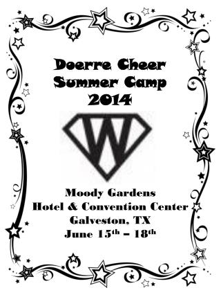 Doerre Cheer Summer Camp  2014