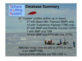 Database Summary