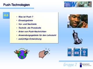 Push-Technologien