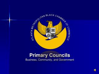Primary Councils Business, Community, and Government