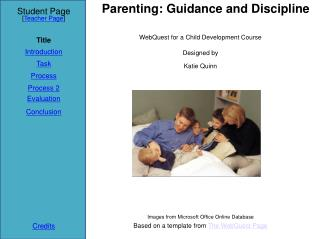 Parenting: Guidance and Discipline