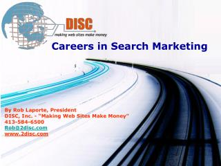Careers in Search Marketing