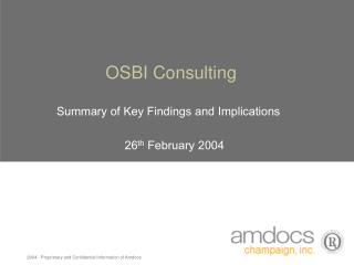 OSBI Consulting