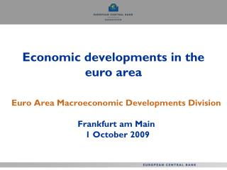 Economic developments in the euro area