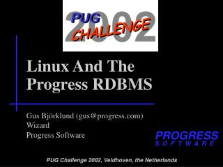 Linux And The Progress RDBMS