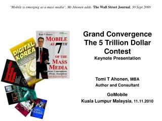 Grand Convergence The 5 Trillion Dollar Contest Keynote Presentation
