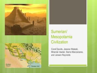 Sumerian/ Mesopotamia Civilization