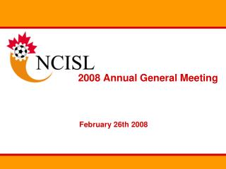 2008 Annual General Meeting