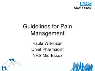 Guidelines for Pain Management