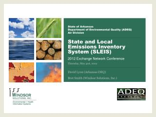 State of Arkansas Department of Environmental Quality (ADEQ) Air Division