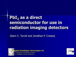 PbI 2  as a direct semiconductor for use in radiation imaging detectors