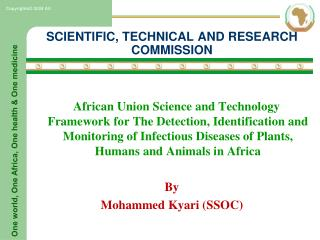 SCIENTIFIC, TECHNICAL AND RESEARCH COMMISSION