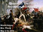Chapter 23: The French Revolution and Napoleon