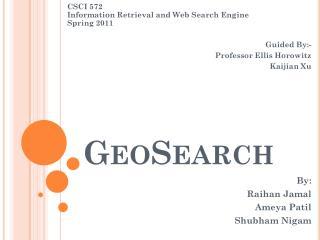 GeoSearch