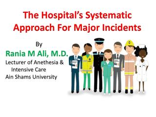 The Hospital's Systematic Approach For Major Incidents