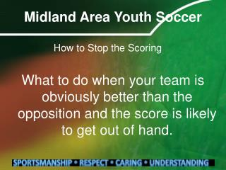Midland Area Youth Soccer