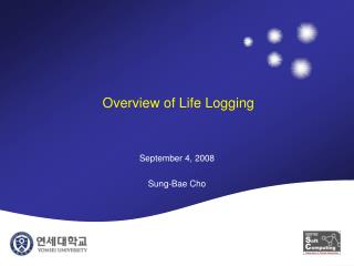 Overview of Life Logging
