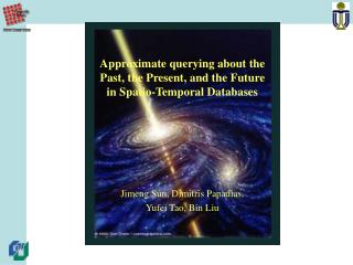 Approximate querying about the Past, the Present, and the Future in Spatio-Temporal Databases