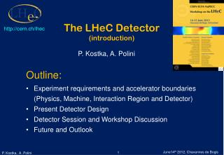 The LHeC Detector (introduction)
