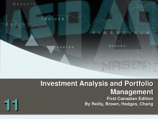 Investment Analysis and Portfolio Management First Canadian Edition
