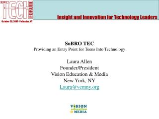 Insight and Innovation for Technology Leaders