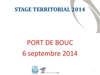 STAGE TERRITORIAL 2014