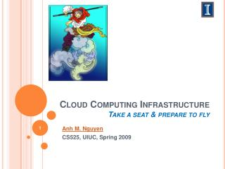 Cloud  C omputing Infrastructure Take a seat & prepare to fly