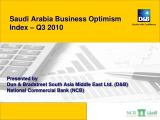 Saudi Arabia Business Optimism  Index – Q3 2010