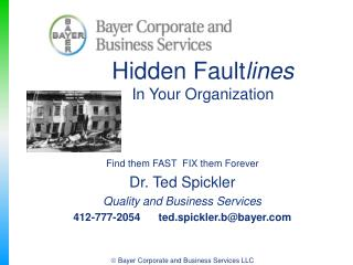 Hidden Fault lines In Your Organization
