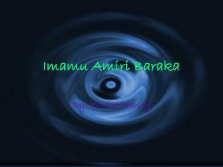 Imamu Amiri Baraka