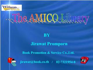 The AMICO Library