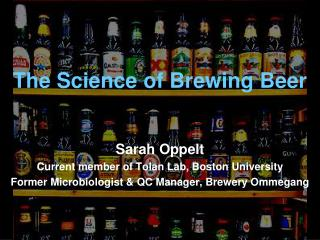 The Science of Brewing Beer