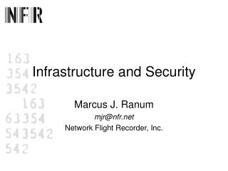 Infrastructure and Security