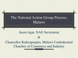 The National Action Group Process, Malawi