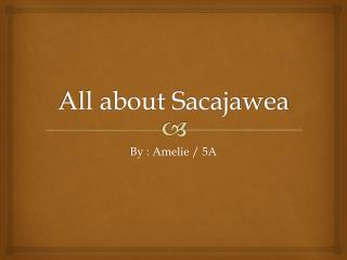 All about Sacajawea