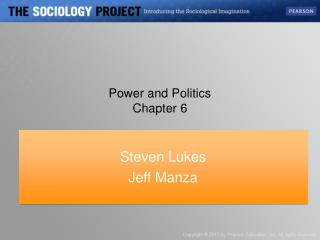 Power and Politics Chapter 6