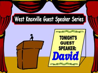 West Knoxville Guest Speaker Series