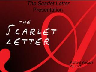 The Scarlet Letter Presentation