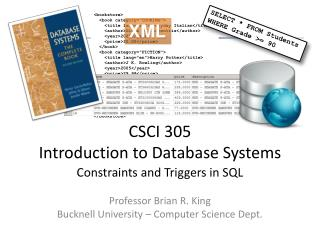 CSCI 305 Introduction to Database Systems