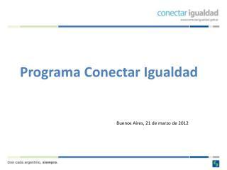 Programa Conectar Igualdad