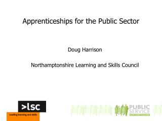 Apprenticeships for the Public Sector
