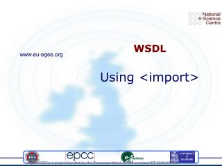 WSDL Using <import>