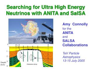 Searching for Ultra High Energy Neutrinos with ANITA and SalSA