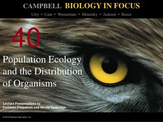 Population Ecology and the Distribution of Organisms